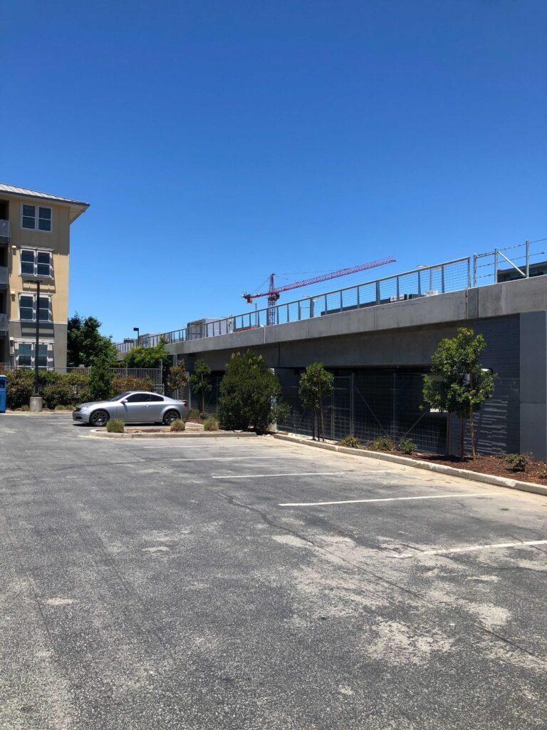 Michael's Parking Lot-Hillsdale