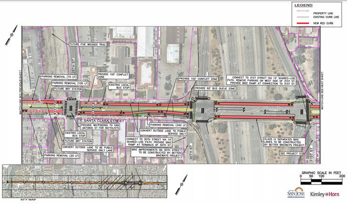 public service lanes East Santa Clara